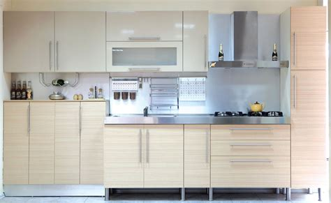 Kitchen Molding Ideas - aluminum glass cabinet doors