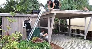 Doppelcarport Mit Geräteschuppen : dachdecker und zimmerer innung bielefeld carport mit ger teschuppen ~ Whattoseeinmadrid.com Haus und Dekorationen