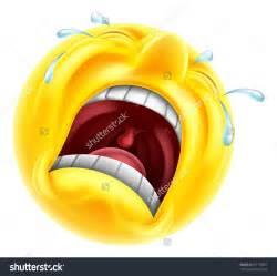 Crying Tears Sad Face Emojis