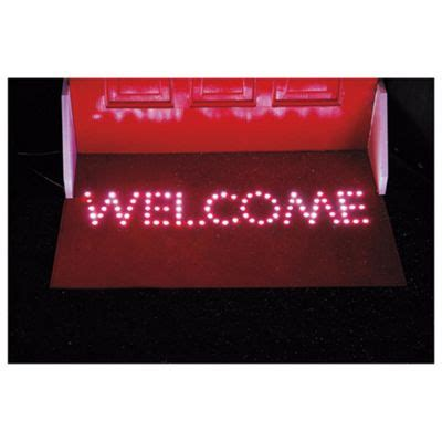 Led Doormat by Buy Welcome Doormat With 84 White Led From Our All