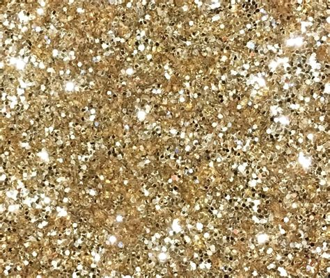 1kg Light Gold Glitter 040 Hex Double Sided Craft Walls
