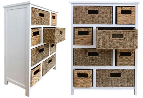 white cabinet with baskets statement furniture tetbury white storage cabinets with