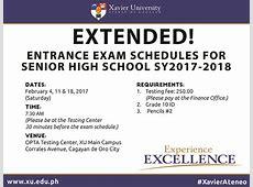 Xavier University EXTENDED XU Senior High School