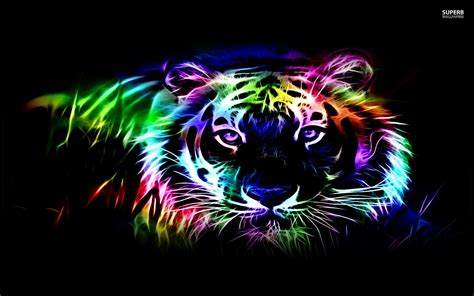 Neon Animal Wallpaper - neon animal wallpapers 58 images