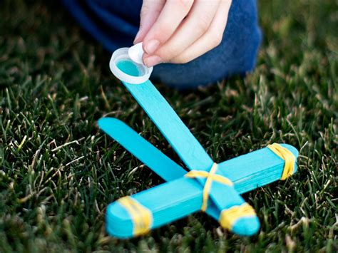 How To Make A Toy Marshmallow Catapult  Howtos Diy