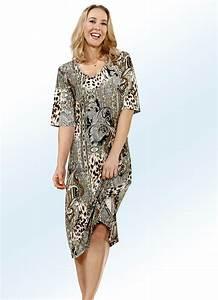 Bader Mode Kleider : hauskleid in bezauberndem allover dessin in 2 farben damen ~ Markanthonyermac.com Haus und Dekorationen