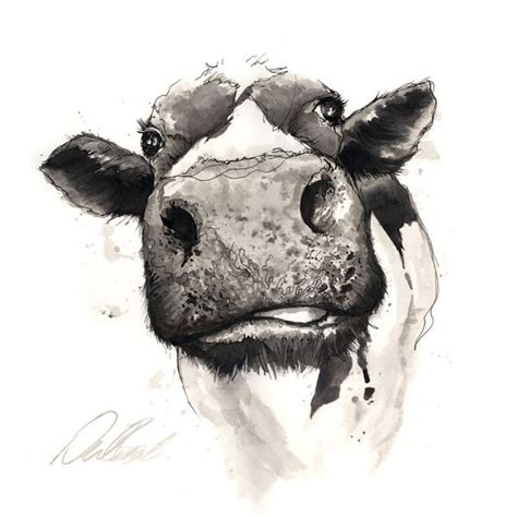 The Farm Neil Beech Love This Pen Ink Work Art