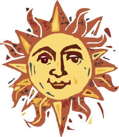 Smile, the sun is out...   Sun art, Sun illustration ...