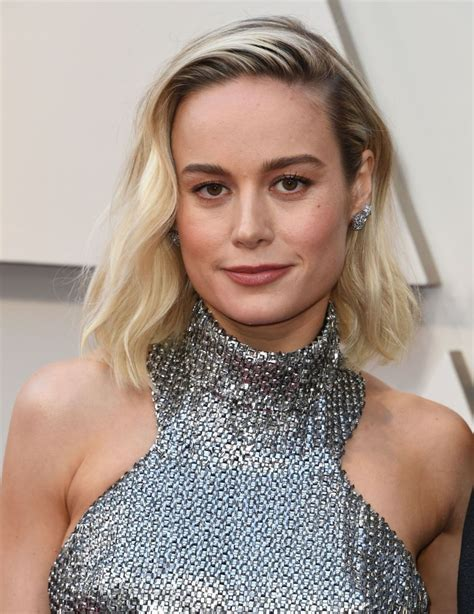 Brie Larson Oscars Red Carpet