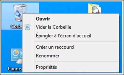 supprimer la corbeille du bureau ccleaner supprimer les raccourcis du menu contextuel de la corbeille