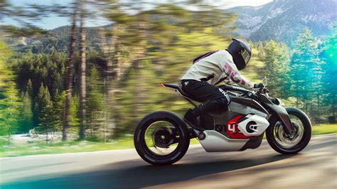 The Bmw Vision Dc Roadster Electric Motorcycle Concept