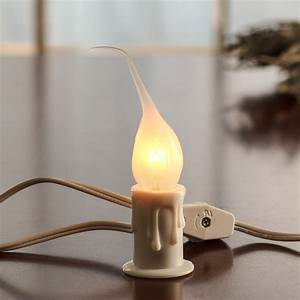 White Electric Welcome Candle Lamp Lighting Primitive