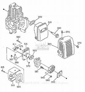Robin  Subaru Ec03 Magic Screed Parts Diagram For Muffler