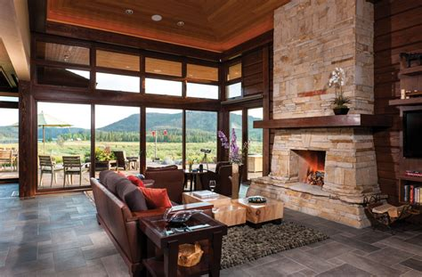 Log Cabin Style Meets Ethnic Modern Interior Design by Interior Maintenance Questions Answered