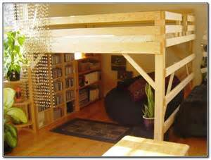 Queen Size Adult Loft Beds with Stairs
