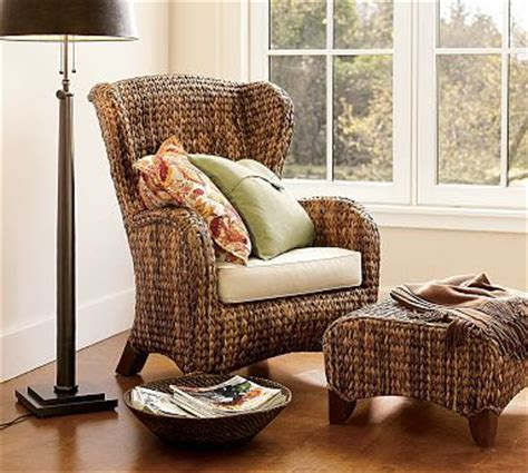 pottery barn seagrass wingback chair honey harmony and home how i would design my house