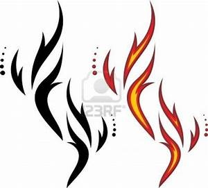 tribal-fire-and-flame-tattoos-designs.jpg (1200×1083) | My ...