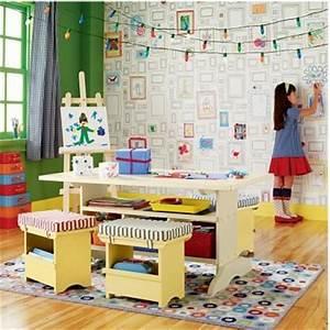 papier peint a colorier vive la creativite deconome With papier peint salle de jeux
