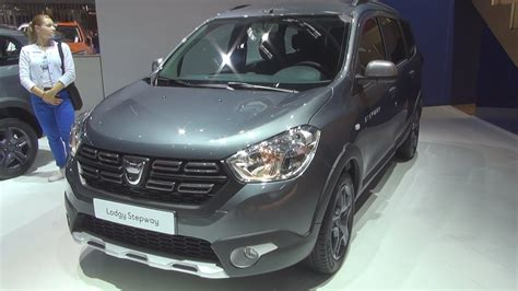 dacia dokker stepway celebration 2018 dacia lodgy stepway celebration tce 115 85 2018 exterior and interior