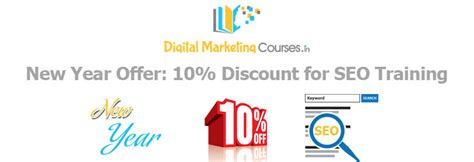 cheap digital marketing course new year offer 10 discount for seo