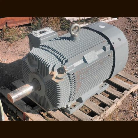 Electric Motors For Sale by Hyundai Electric Motor Supplier Worldwide Used 200 Hp