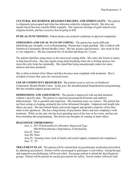 biopsychosocial assessment template biopsychosocial assessment no identifiers