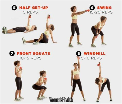 kettlebell workout muscle tone workouts plan muscles build fat killer burn routine exercise continue