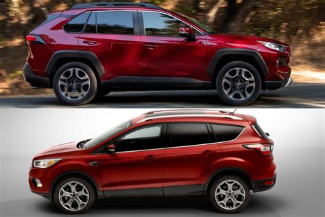 Ford Escape Vs Toyota Rav4 by 2019 Toyota Rav4 Vs 2019 Ford Escape Which Is Better