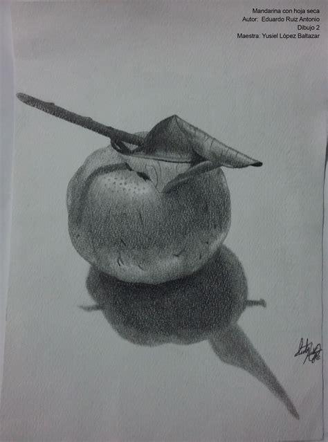 Título: Mandarina con hoja seca Descripción/técnica