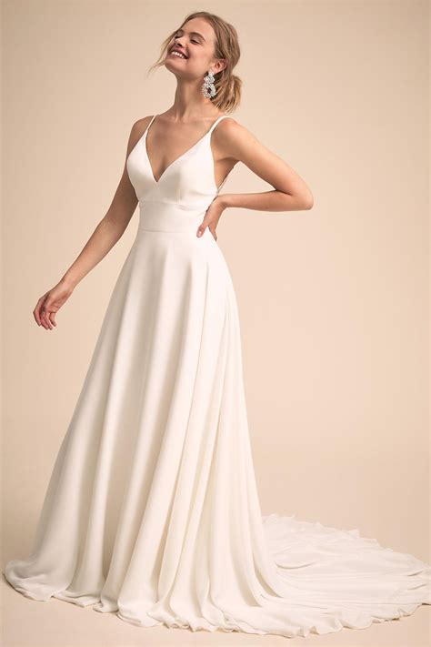 Check out our wedding gown selection for the very best in unique or custom, handmade pieces from our dresses shops. Fashion Forward BHLDN Wedding Dresses for the Modern Bride ...