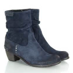 womens boots navy blue k s navy 21 35110 s studded ankle boot