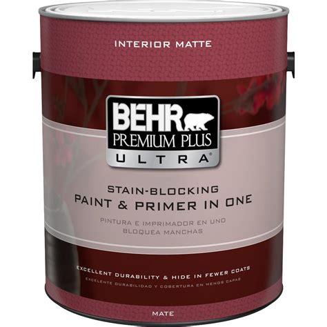 home depot paints interior behr premium plus ultra 1 gal ultra white matte