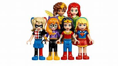 Lego Dc Super Hero Heroes Female Power
