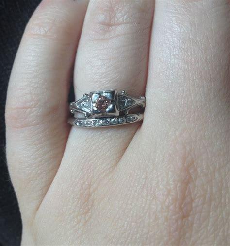 show me your vintage or heirloom rings weddingbee