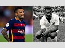 Barcelona Alves overtakes Pelé and is third player with
