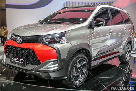 all new toyota agya giias 2016 toyota avanza veloz tigre suv inspired