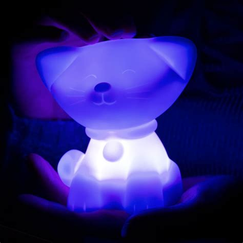 color changing colour changing cat mood light multi coloured
