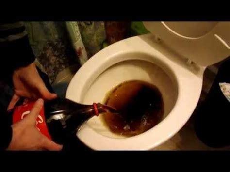 cola toilette reinigen toilette reinigen mit cola und backpulver wc putzen mit hausmittel haushaltstips