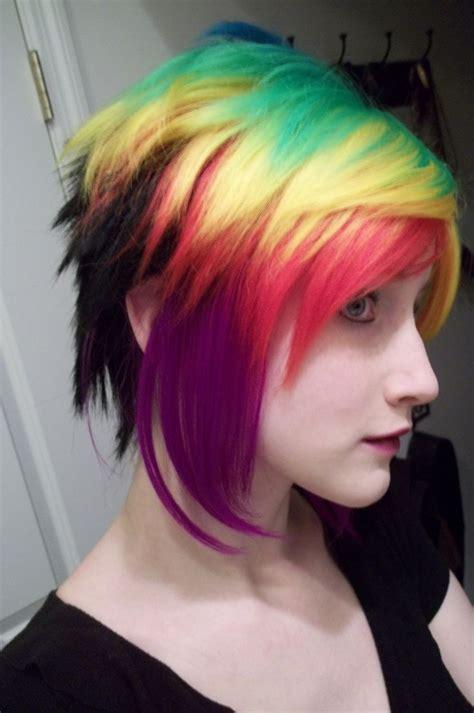Rainbow Hair Do Or Dye Pinterest