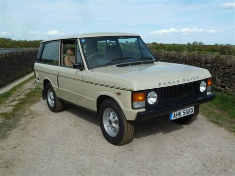 1981 Range Rover Classic