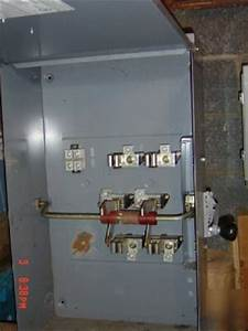 200 Amp Single Phase Square D Transfer Switch 240 Volt