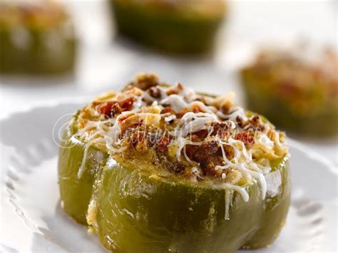 Stuffed Bell Peppers with Sausage