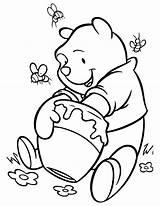 Honey Coloring Honey3 sketch template