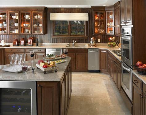 l shaped kitchen designs with island pictures la cuisine style cagne d 233 cors chaleureux vintage 9869