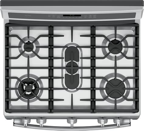 ge gas cooktop ge pgb940zejss 30 inch freestanding gas range with