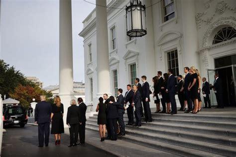 trump funeral robert brother held president casket hands members presidents