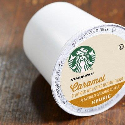 They commonly have a coffee or cream base that's blended with ice and topped with a generous dollop of whipped cream. Starbucks Caramel Flavored Medium Roast Coffee - Keurig K-Cup Pods - 16ct   Starbucks caramel ...