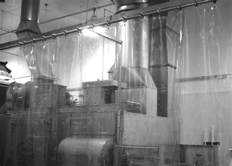 clean curtains food processing curtain walls curtain