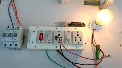 Light Switch Fuse Box by Switch Box Connection With Fuse In Tamil How To Connect