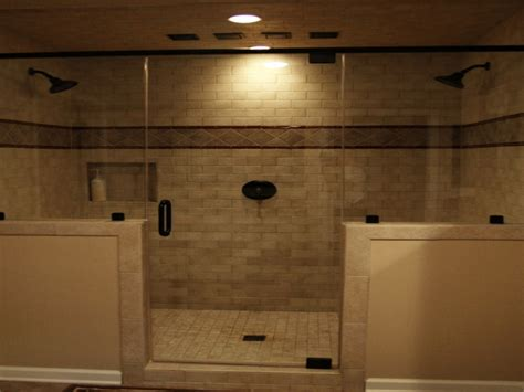 double shower heads ondouble dual interior designs